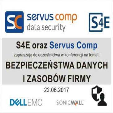 Zapraszamy na Konferencję poświęconą bezpieczeństwu danych i zasobów Firmy
