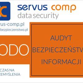 Audyt Bezpieczeństwa Informacji a RODO